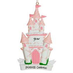 Personalized Princess Castle Ornament