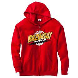 The Big Bang Theory Bazinga Mens Hoodie