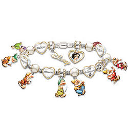 Snow White 75th Anniversary Commemorative Bracelet