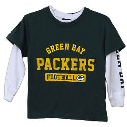 Youth's Green Bay Packers Combo Shirt Set