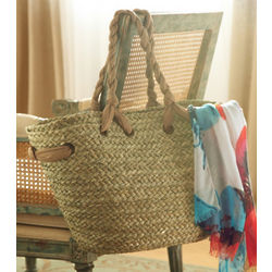Hatteras Straw Beach Tote Bag