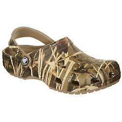 Baby Boy's Crocs Classic Camo Pattern Shoes
