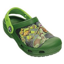 Boy's Crocs Teenage Mutant Ninja Turtles Clogs