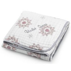 Personalized For the Birds Classic Dream Baby Blanket