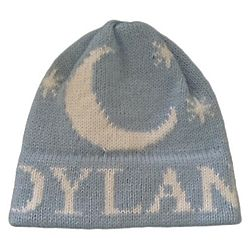 Personalized Moon and Stars Knit Hat