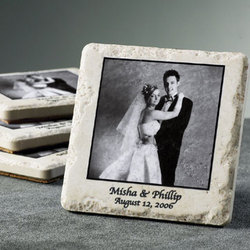 Wedding Stone Coasters