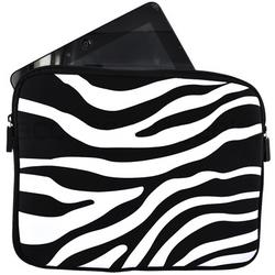 iPad Nylon Sleeve Case in Zebra Stripe