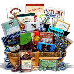 Kosher Hanukkah Deluxe Gift Basket