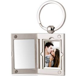 Personalized Photo Locket Key Ring