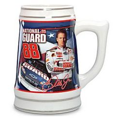 Dale Earnhardt Jr. Ceramic Stein