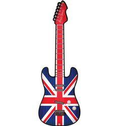 Union Jack Guitar Sign