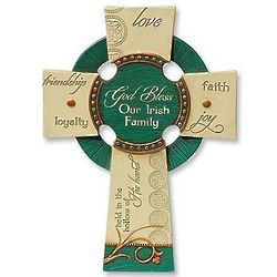 Irish Family Wall Cross