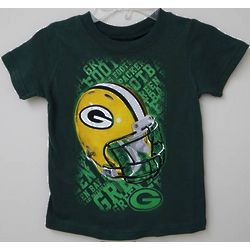 Toddler's Green Bay Packers Helmet T-Shirt
