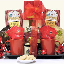 Breakfast for Two Anniversary Gift Basket