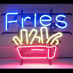 French Fries Neon Sign