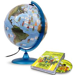 Notable People of the World Globe and DVD
