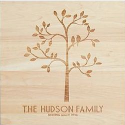 Family Tree Personalized Wooden Wall Art