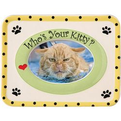 Who's Your Kitty? Picture Frame