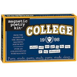 College Magnetic Poetry Kit