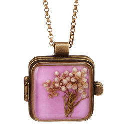 Pressed Flower Locket