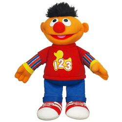 Sesame Street Rockin' Numbers Ernie Stuffed Toy