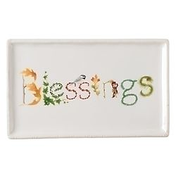 Blessings Floral Tray