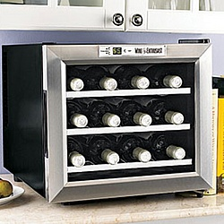 12-Bottle Silent Wine Refrigerator