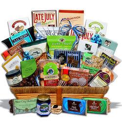 Kosher Hanukkah Cornucopia Gift Basket