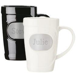 Engravable Ceramic Mug