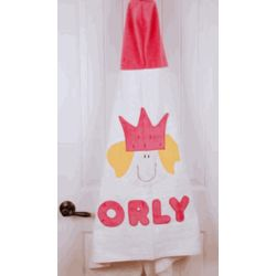 Personalized Princess Towel