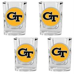 Georgia Tech Yellowjackets Shot Glasses