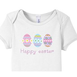 Happy Easter Eggs Baby T-Shirt