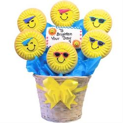 Brighten Your Day Shortbread Cookie Bouquet