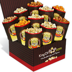 The Critic's Choice Popcorn Sampler Gift Box
