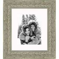 Ready Made Ornate Silver Picture Frame