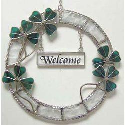 Shamrock Welcome Wreath