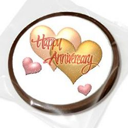 Anniversary Chocolate Party Favor