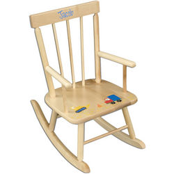 Personalized Child's Wood Rocker
