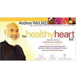Healthy Heart Book and Audio CDs
