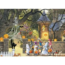 Halloween Buddies Multi Sized Puzzle