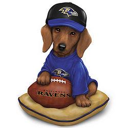 Baltimore Ravens Sunday Afternoon Quarter-Bark Figurine