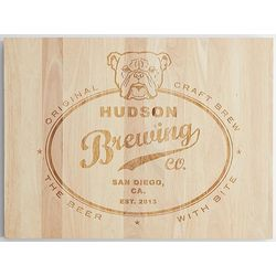 Personalized Pubs Sign Wooden Wall Art