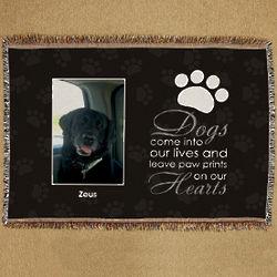 Personalized Pet Memorial Throw Blanket