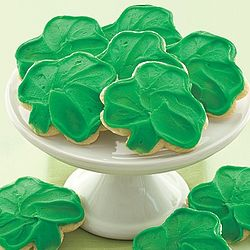Frosted St. Patrick's Day Cookies Gift Box
