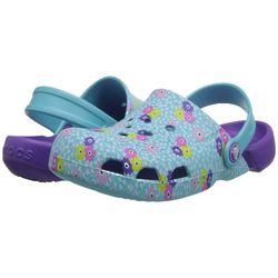 Girl's Electro Ditsy Clog Shoes