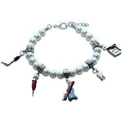 Dental Assistant Charm Bracelet in Silver