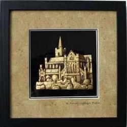 St. Patricks Cathedral Shadow Box