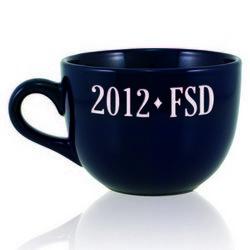 Personalized Blue Graduating Class Jumbo Mug