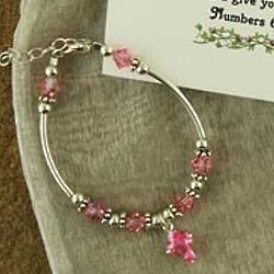 Child's Blessing Bracelet with Scripture Card