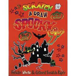 Scratch and Draw Halloween Scratch Paper Pad